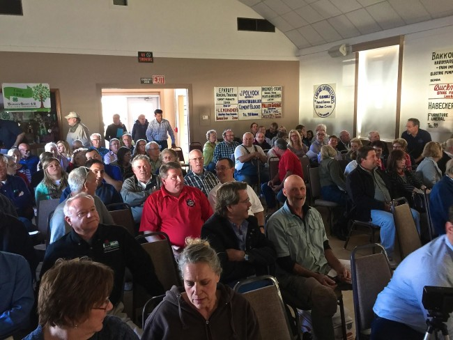 DNR meeting Town of Linn  April 13 2105