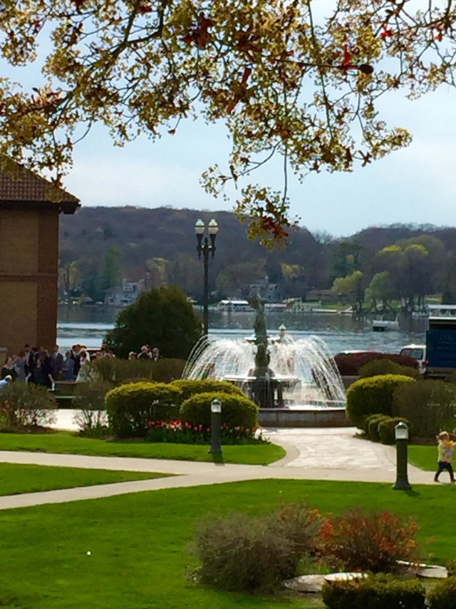 Driehaus Fountain Lake Geneva