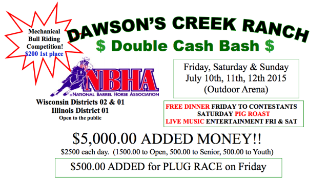 Dawson's Creek Ranch July Barrel Race