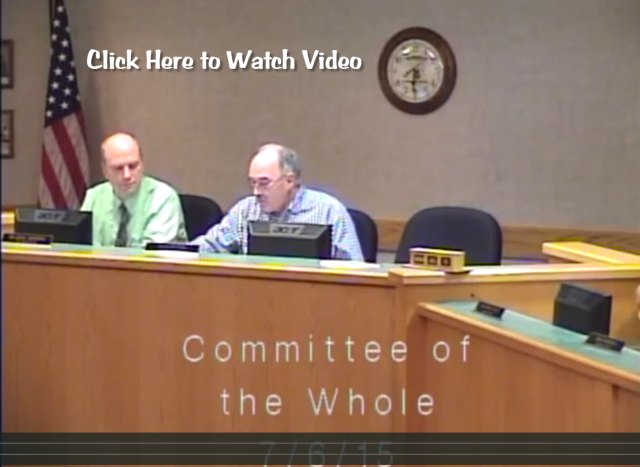 Committee of Whole Lake Geneva Video