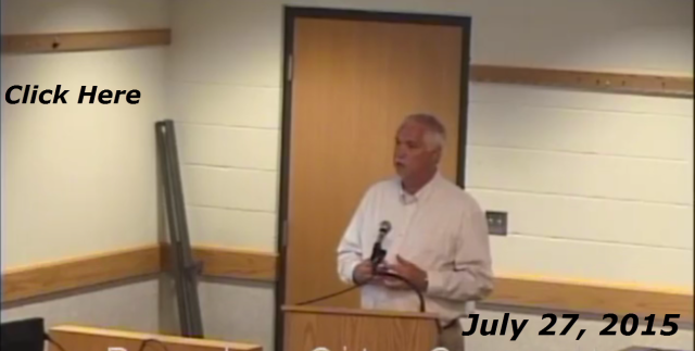 Lake Geneva City Council Video 07-27