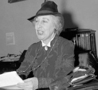 Jeanette Rankin first woman Legislator