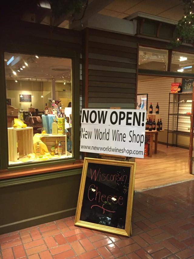 New World Wine Shop Lake Geneva