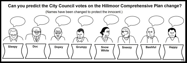 City Council Vote on Hillmoor Fake Lake Development