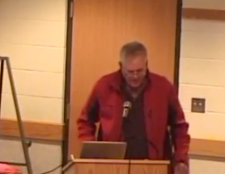 Pete Peterson at COW Meeting Lake Geneva