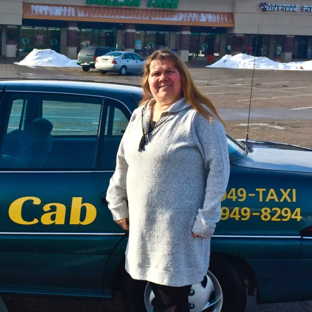 Goldie from Senior Cab Company Lake Geneva