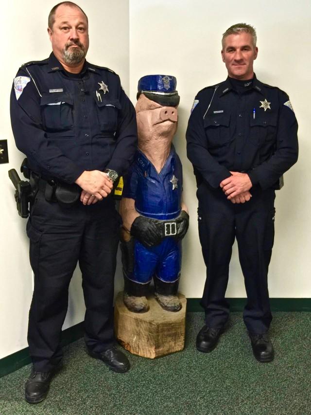 Heroic Lake Geneva Police Officers