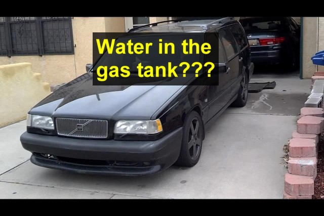 Is water in your fuel tank?