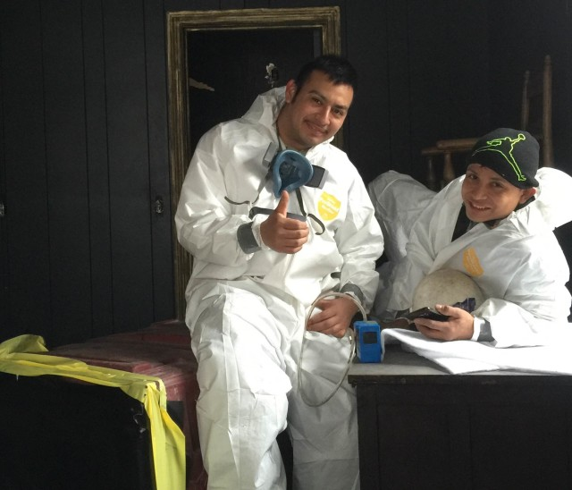 Asbestos Removal Workers Traver Hotel