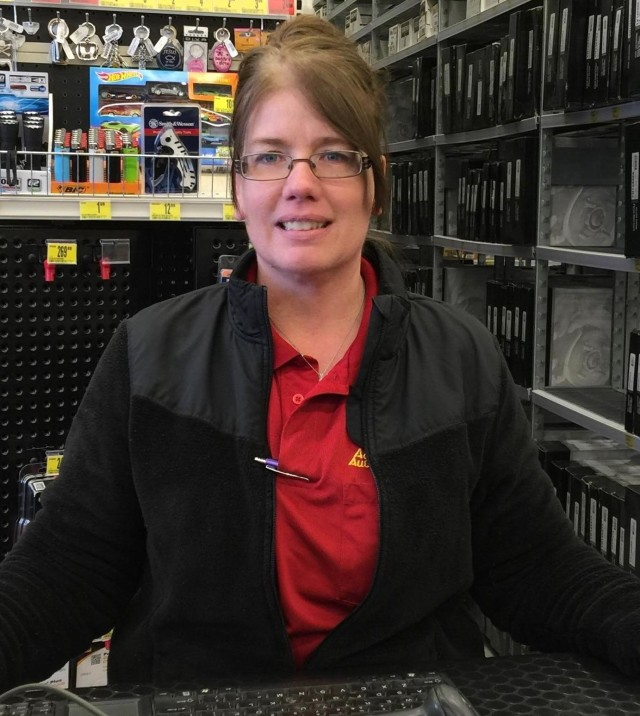 Tina Sween from Geneva Auto Parts Store