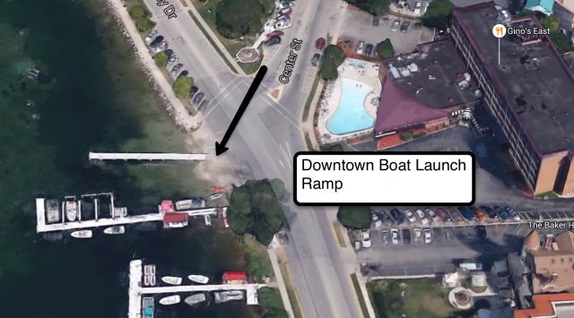 Downtown Boat Launching