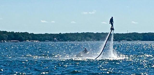 Fun at Lake Geneva