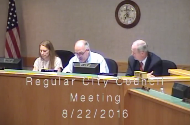 Lake Geneva City Council Video August 22