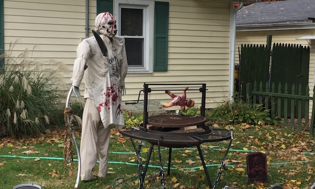 A scary Place in Lake Geneva Halloween Time