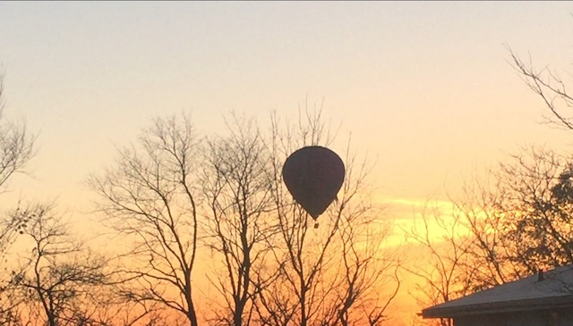 Hot Air Ballooning over Lake Geneva