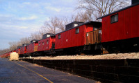 End of Line Caboose Hotel Lake Geneva WI