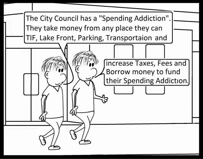 Terry O'Neill's Cartoon City of Lake Geneva
