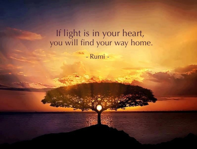 light is in your heart