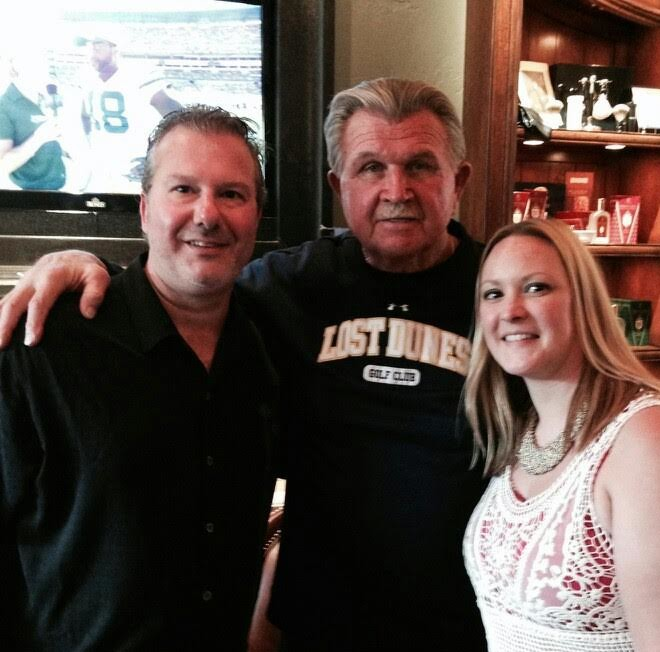 Mike Ditka at the Haberdapper