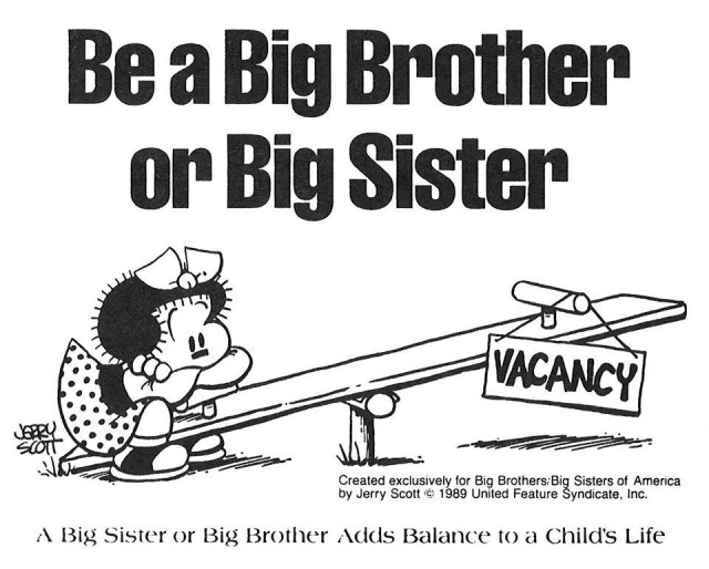 Connect with Big Brother-Big Sister organization