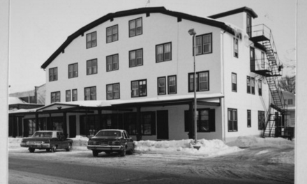 Cleaning up the Historic Hotel Traver, February 26, 2016