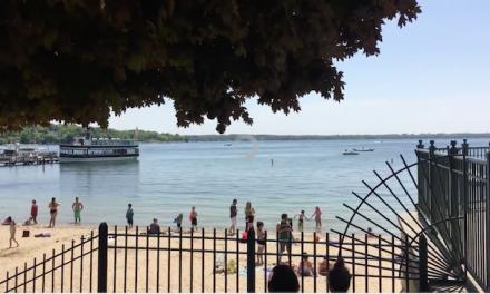 Summer Day on Lake Geneva, May 22, 2016