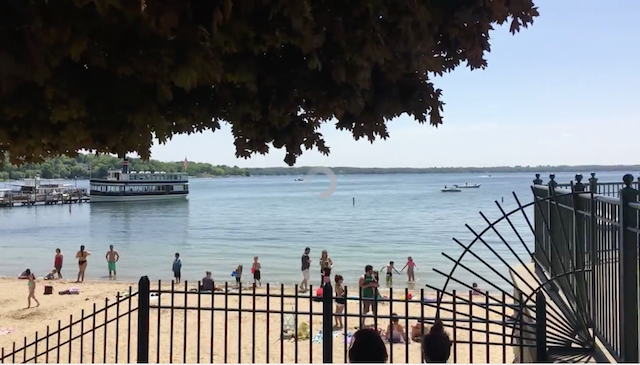 Summer Day on Lake Geneva, May 22, 2016