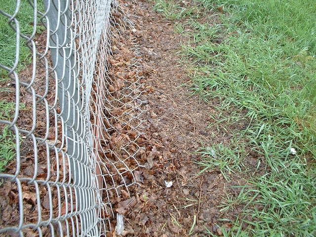 Dog Park fence in need of repair Lake Geneva