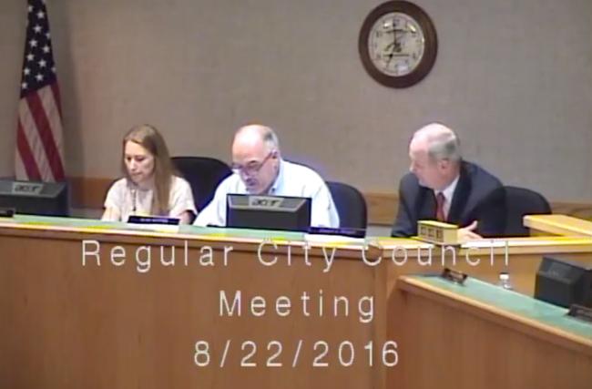 Lake Geneva City Council Video August 22