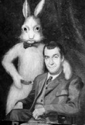 Harvey and Jimmy Stewart