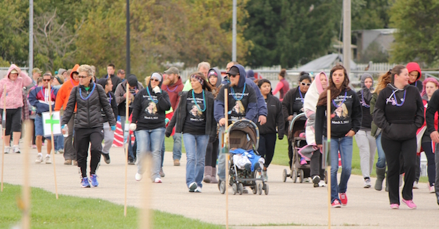 Benefit Walk, Out of the Darkness, Oct 1, 2016