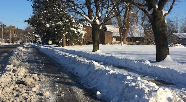 City of Lake Geneva Street snow