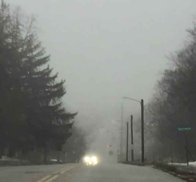 Fog Lake Geneva