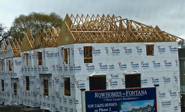 Row Homes Fontana