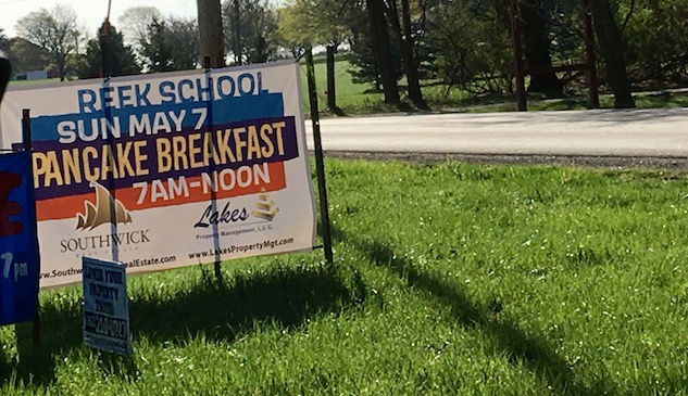 Reek School Pancake Breakfast