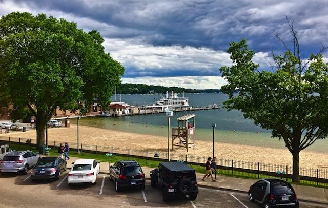 View from Oakfire Lake Geneva