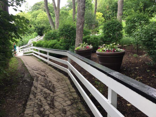 Repainted Walkway