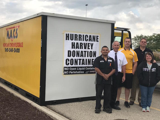 Donations to Hurricane Victims