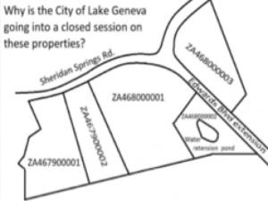 Map of Property lake Geneva