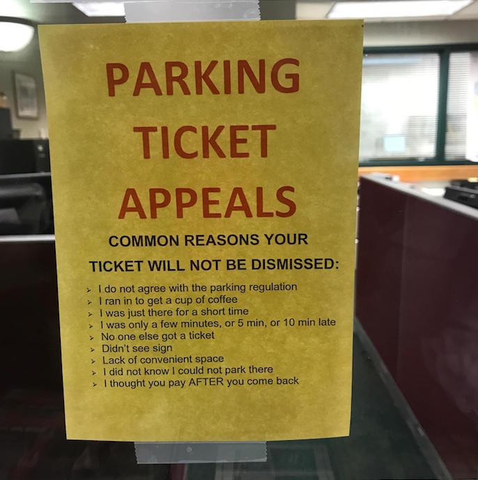 Parking Ticket Appeals Lake Geneva
