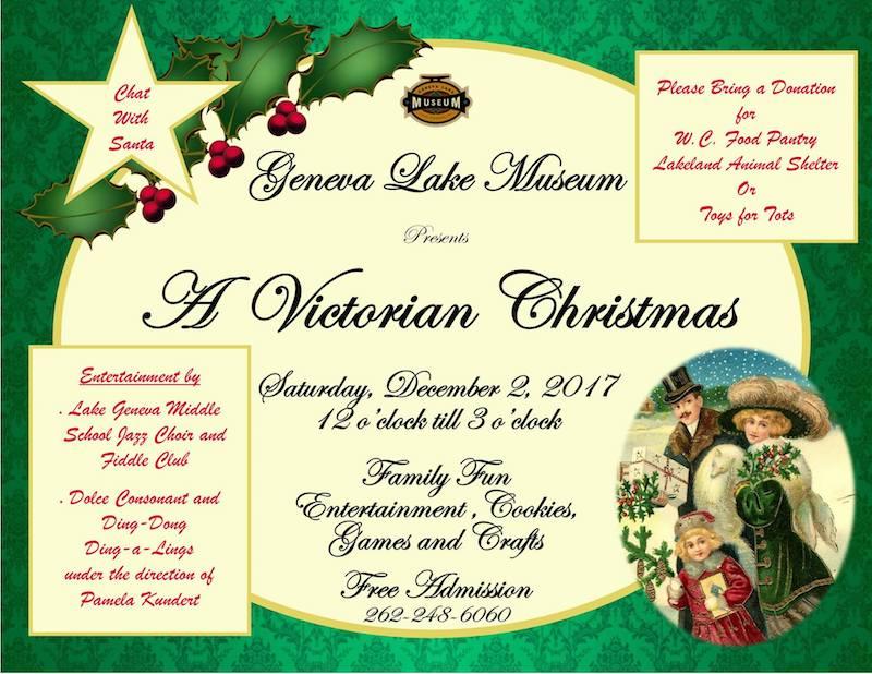 Victorian Christmas lake Geneva Museum