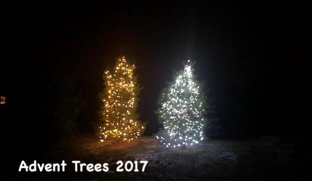 First two Advent Trees 2017