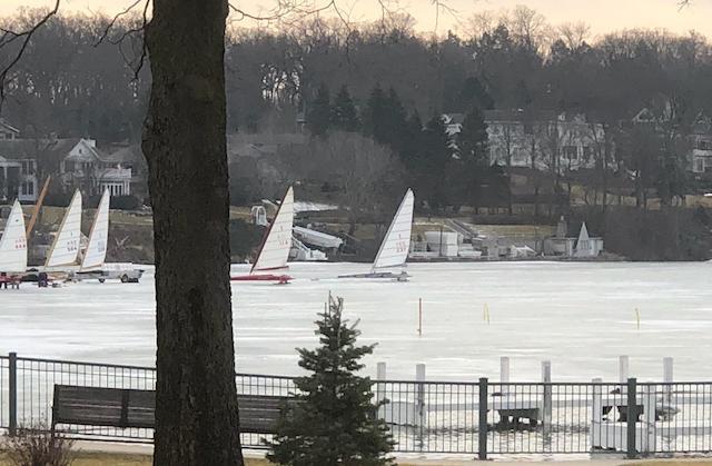 Ice Boating Lake Geneva
