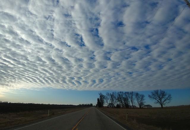 Sky over Delavan