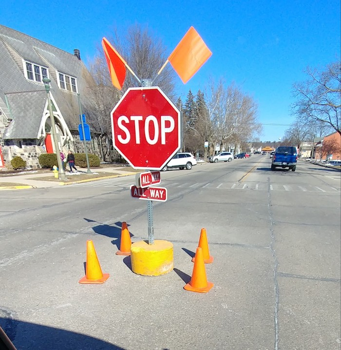 Stop Sign Lake Geneva