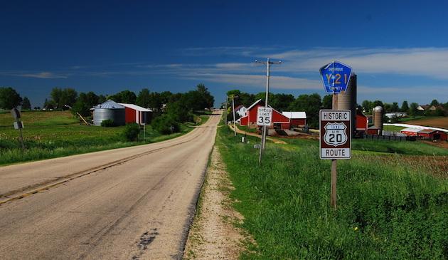 Route 20 Through Iowa, Gene Kimmet