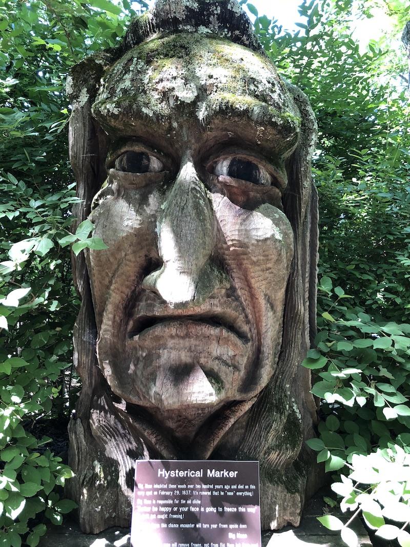 Big Nose Statue
