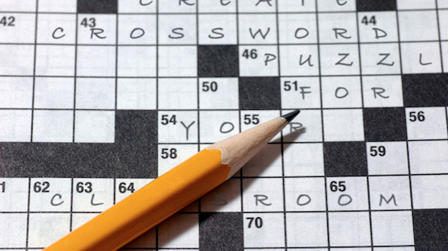 Crossword Puzzles, May 8, 2019