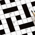 Crossword Puzzle, August 1, 2018