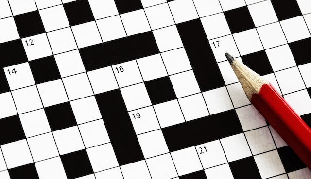 Crossword Puzzle, September 19, 2018